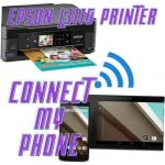 connect my phone to my Epson L3110 printer